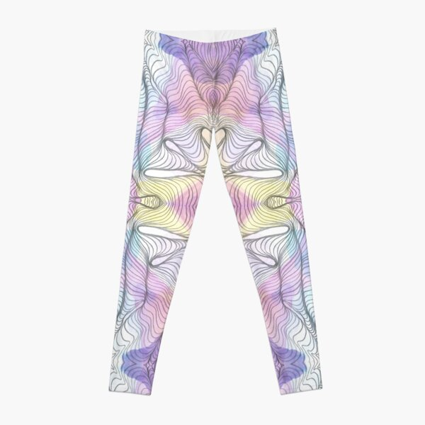 Flower Vortex Leggings