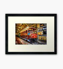 Tram No. 2 Blackpool & Fleetwood Framed Print