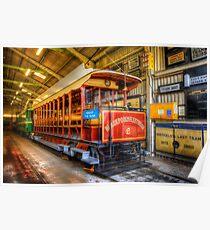 Tram No. 2 Blackpool & Fleetwood Poster