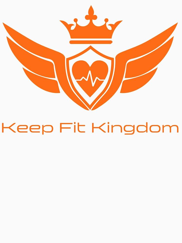 Keep Fit Kingdom classic logo by KeepFitKingdom