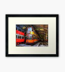 Tram 812 Glasgow Corporation Framed Print