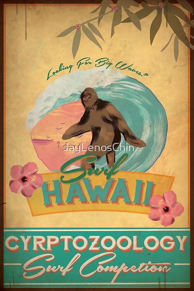 Cryptozoology Surf Competion by JayLenosChin