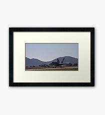 Sky Fighter Framed Print