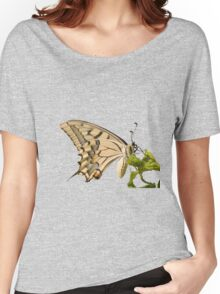 Swallowtail Butterfly Vector Isolated Women's Relaxed Fit T-Shirt