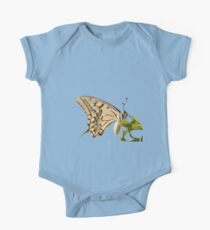 Swallowtail Butterfly Vector Isolated One Piece - Short Sleeve
