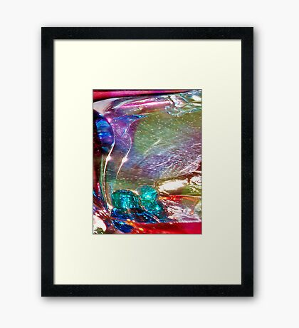 Astractionist Deviation Framed Print