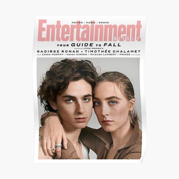 Timothee Chalamet x Saoirse Ronan Magazine Poster