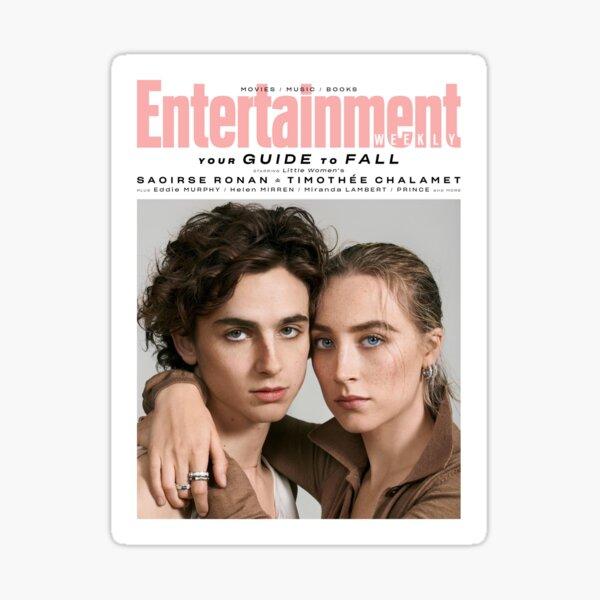 Timothee Chalamet x Saoirse Ronan Magazine Sticker