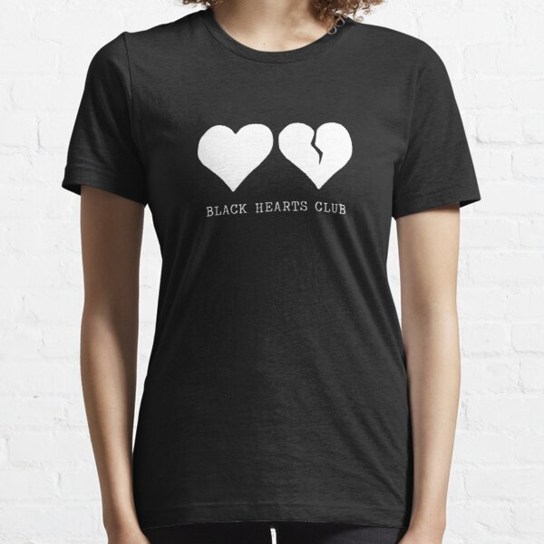Best-seller - Marchandise Yungblud Black Hearts Club T-shirt essentiel