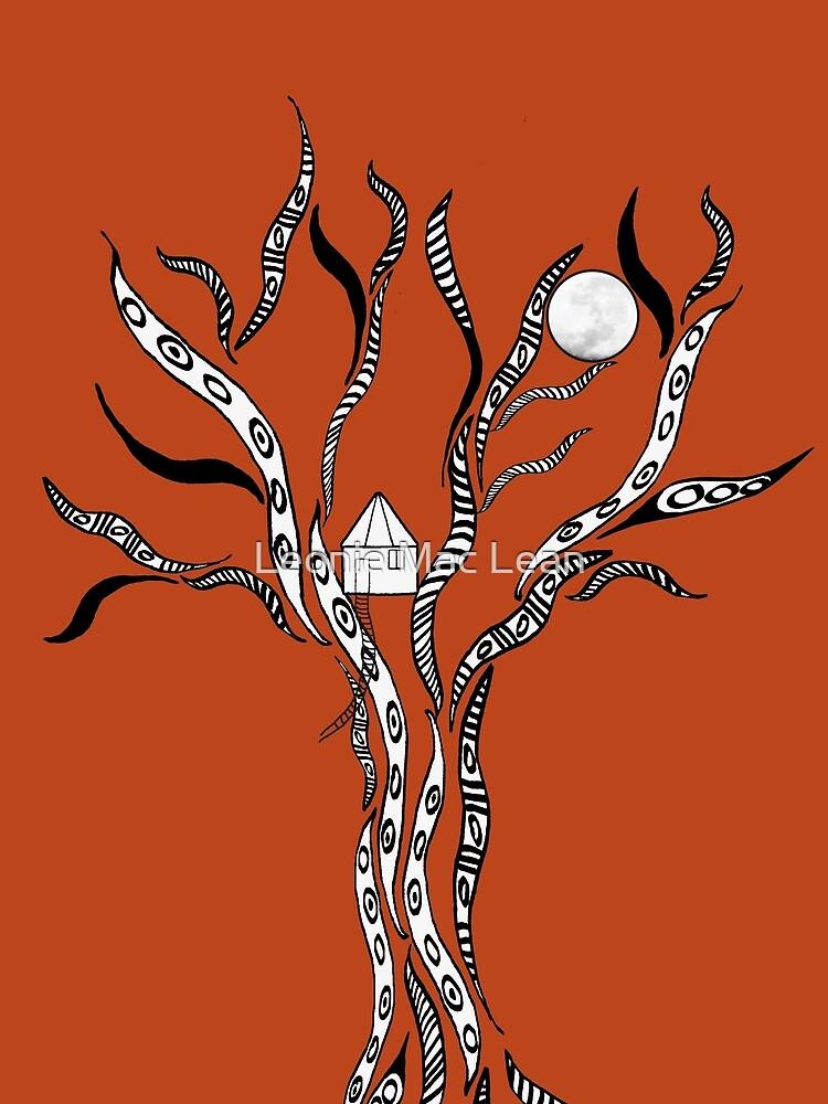 Treehouse on Wisteria by yallmia