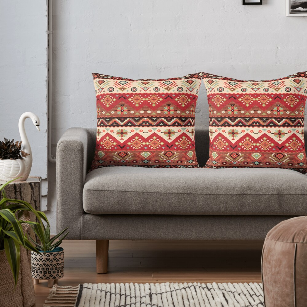 Bohemian Oriental Traditional Moroccan Original Style Design Throw Pillow