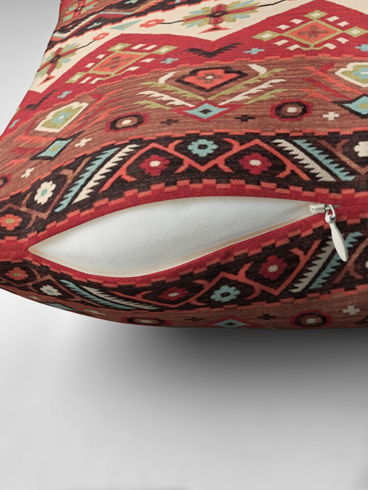 Alternate view of Bohemian Oriental Traditional Moroccan Original Style Design Throw Pillow