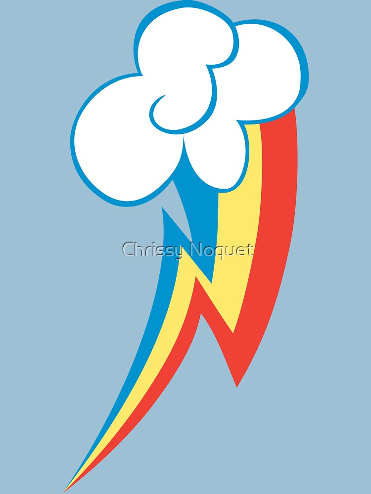 Rainbow Dash Cutie Mark | Unisex T-Shirt
