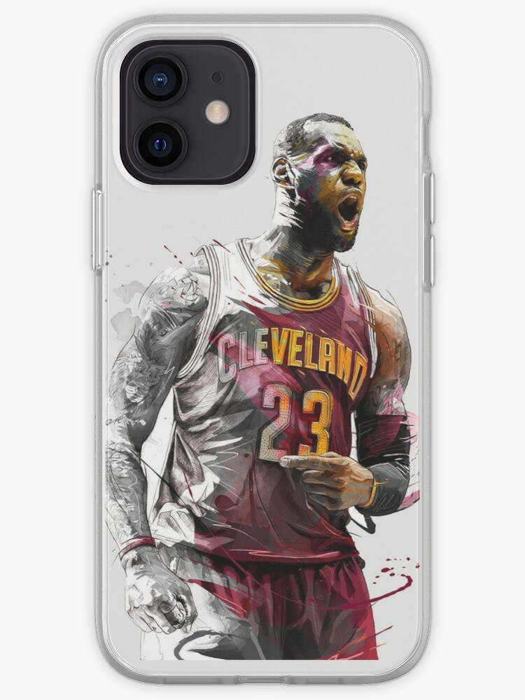 lebron james cleveland   Coque iPhone