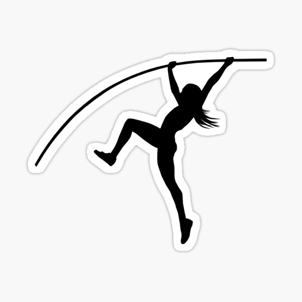 Sports Wall Decals Pole Vault