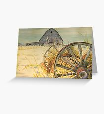 Valley Memories: For Jane Greeting Card