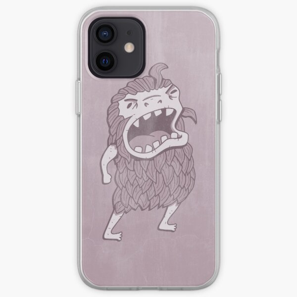 Sasquatch knows his manners iPhone Soft Case