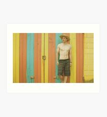 The BeachHouse Art Print