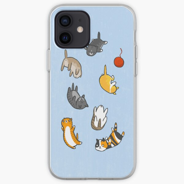 Kitten Rain iPhone Soft Case