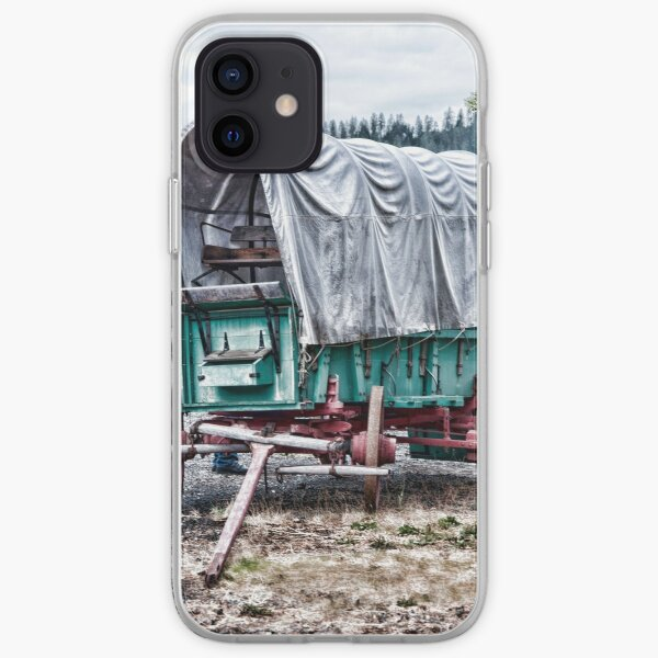 "Wagon Train ""The Applegate Trail"" iPhone Soft Case"