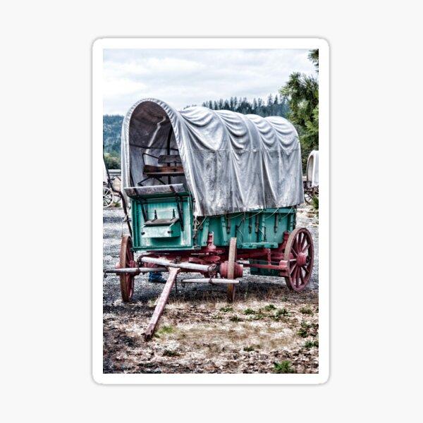"Wagon Train ""The Applegate Trail"" Sticker"
