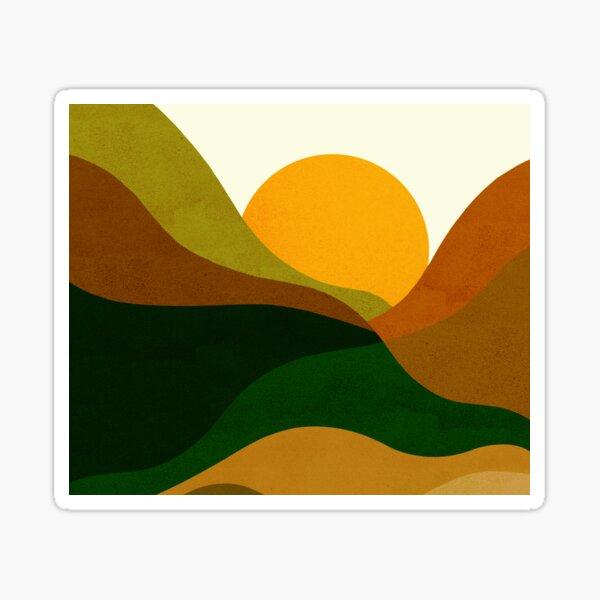 MOUNTAINS_OUTDOOR_SUMMER_SPRING_VISUAL_ART Sticker