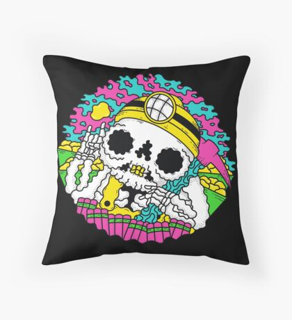 Go For Gold Throw Pillow