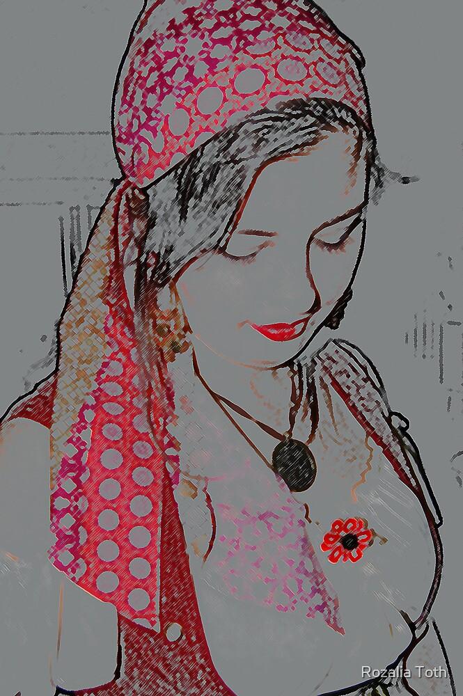 Gypsy Girl by Rozalia Toth