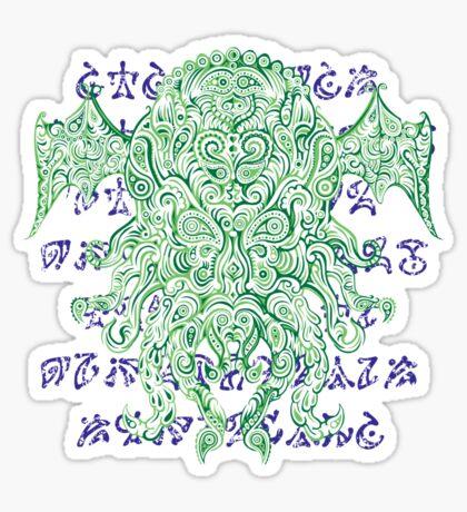 Pthulhu Sticker
