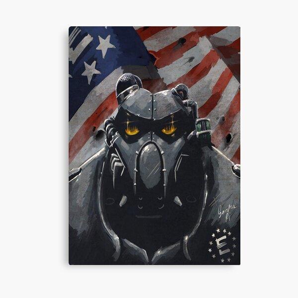 Fallout: Enclave Canvas Print