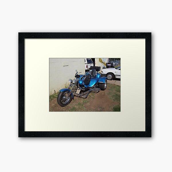 Panther Sportcat Trike - RGM19 Framed Art Print