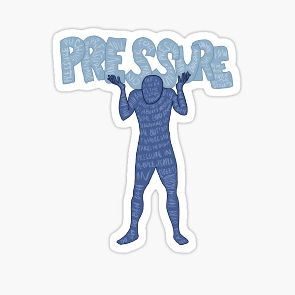 Under Pressure - Queen  Sticker