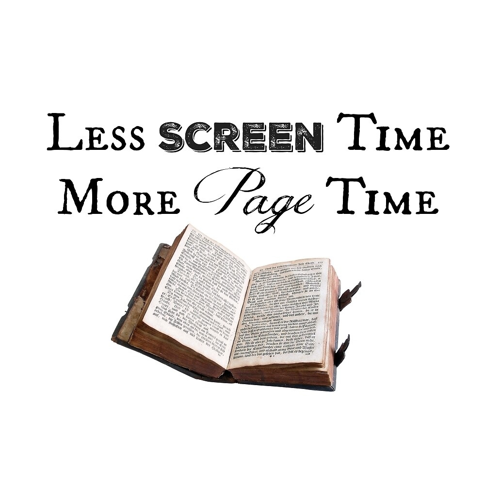 Less Screen Time, More Page Time by Thousand Word Graphics