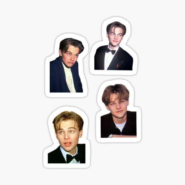 young leonardo dicaprio sticker Sticker