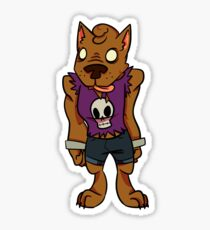 Jorts Wolf Sticker