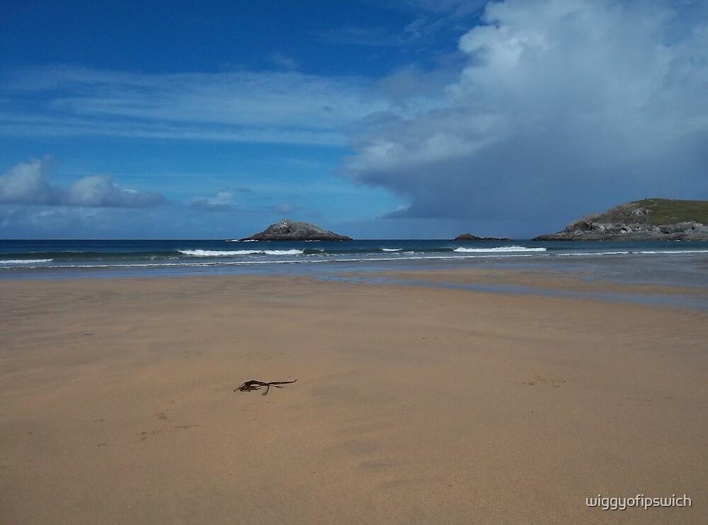 Crantock Beach, Cornwall by wiggyofipswich