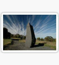 Spike ,Barossa Sculpture Park, South Australia Sticker