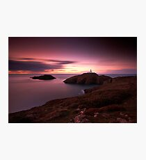 Strumble Head Light Photographic Print