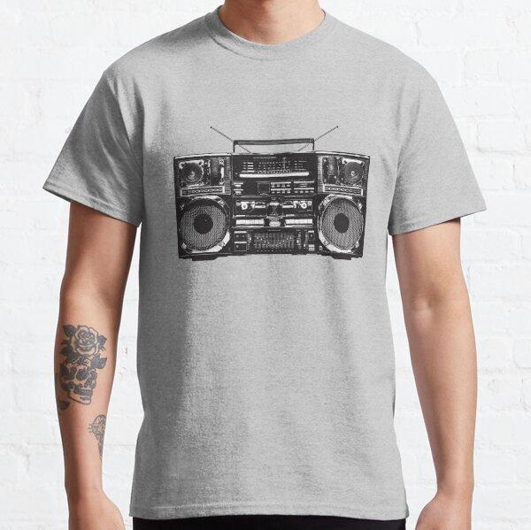 Boombox Ghetto Blaster Classic T-Shirt