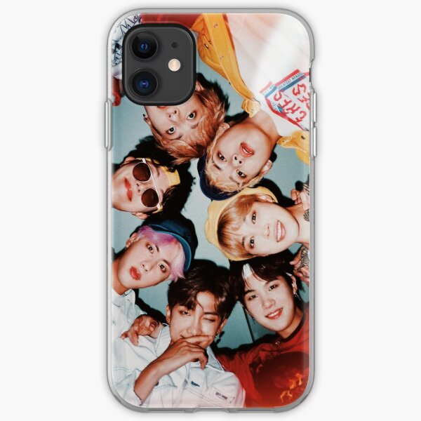 bts group photo :') iPhone Soft Case