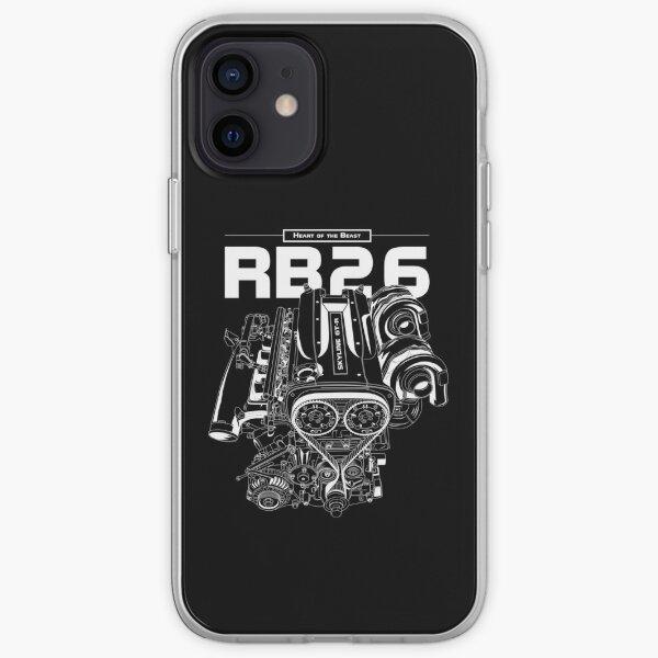RB26DETT Engine - Skyline GTR iPhone Soft Case