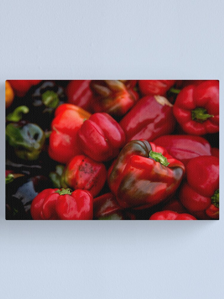 Alternate view of Peppers #1 Canvas Print