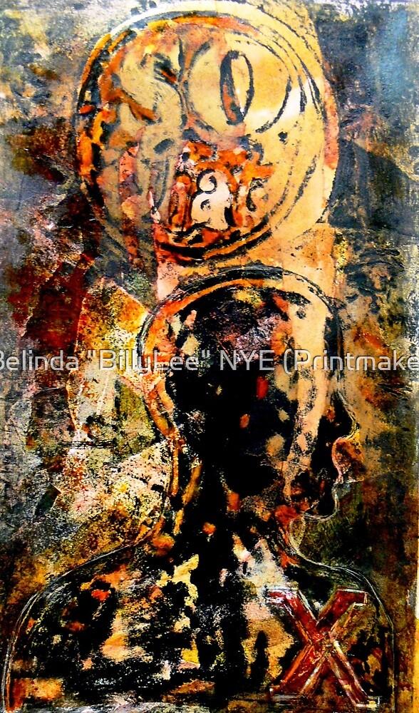 """So What"" -  Collagraph by Belinda ""BillyLee"" NYE (Printmaker)"