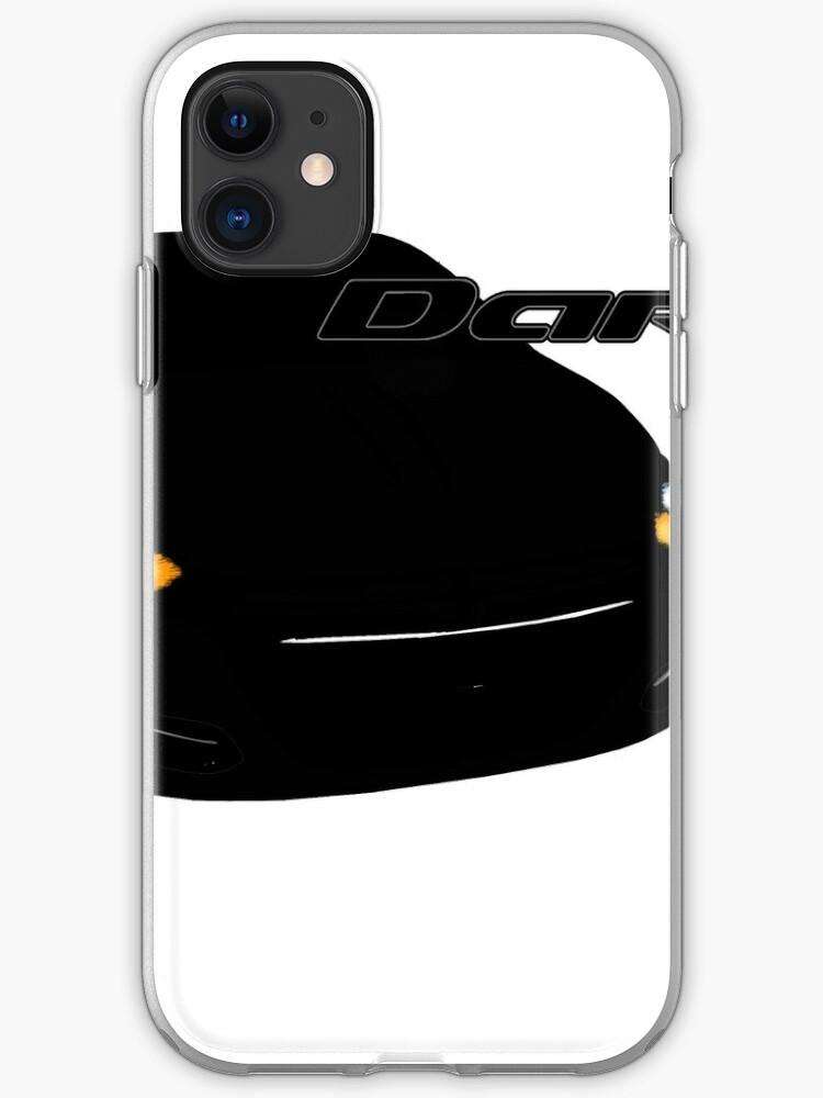 Dodge BLACK iphone case