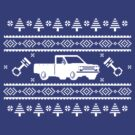 Datsun 521 Ugly Sweater by The World Of Pootermobile