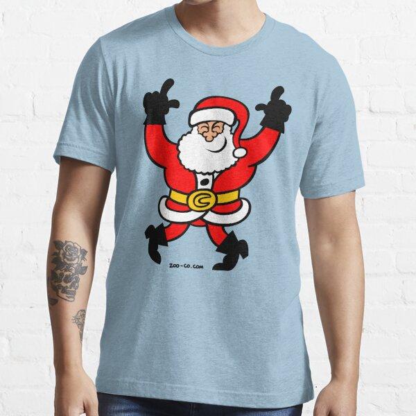 Dancing Santa Claus Essential T-Shirt