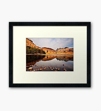 Sunlight on the Fells Framed Print