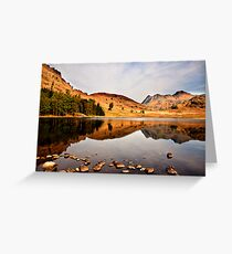 Sunlight on the Fells Greeting Card