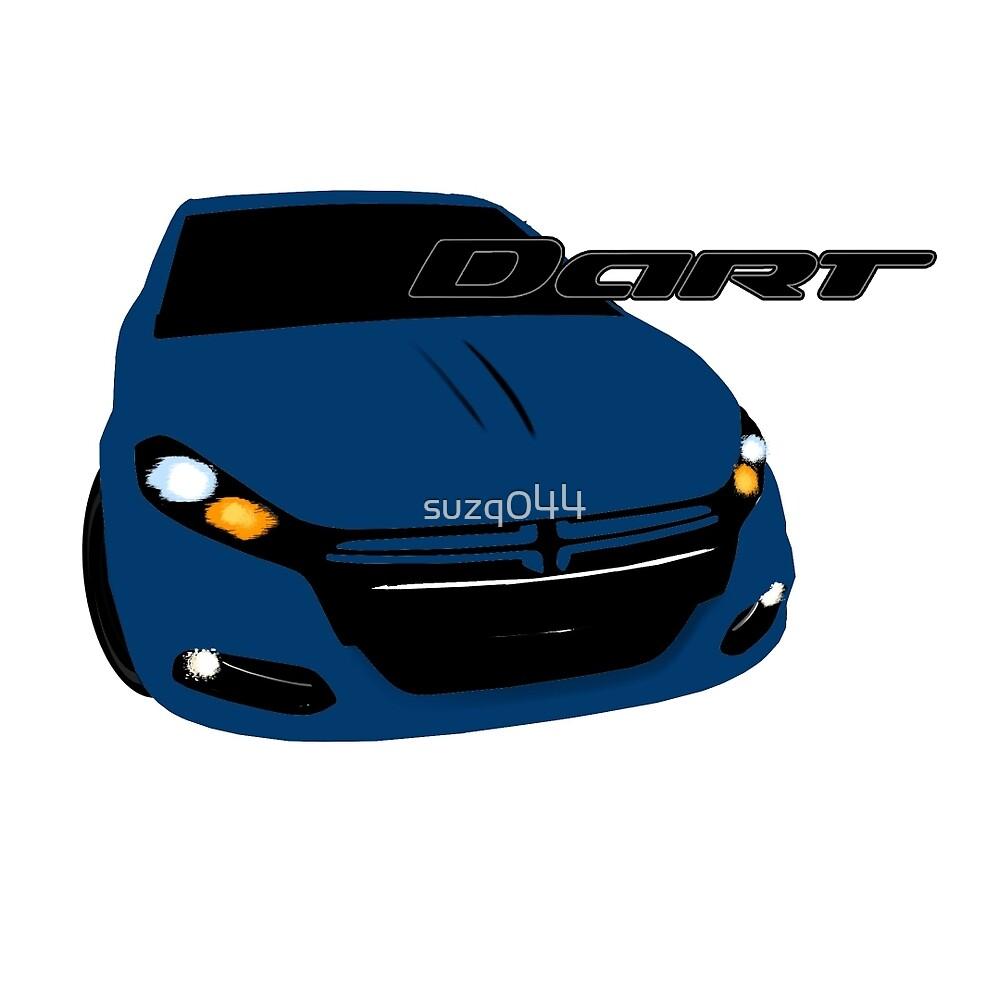 Dodge  Dart - True Blue by suzq044