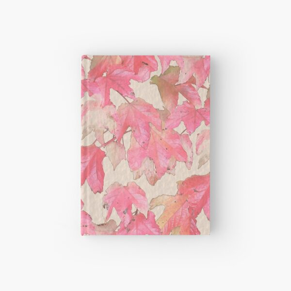 Autumn leafs Hardcover Journal
